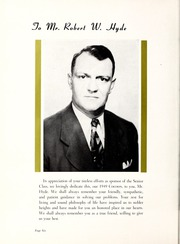 Page 10, 1949 Edition, Coon High School - Cocoon Yearbook (Wilson, NC) online yearbook collection