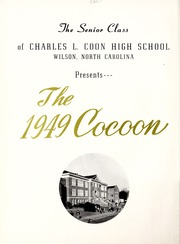 Page 6, 1949 Edition, Coon High School - Cocoon Yearbook (Wilson, NC) online yearbook collection
