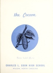 Page 5, 1952 Edition, Coon High School - Cocoon Yearbook (Wilson, NC) online yearbook collection