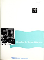 Page 5, 1958 Edition, Coon High School - Cocoon Yearbook (Wilson, NC) online yearbook collection