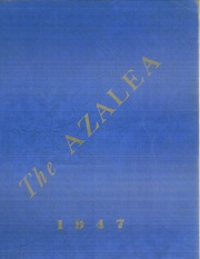 1947 Edition, Mars Hill High School - Azalea Yearbook (Mars Hill, NC)