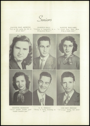 Page 12, 1952 Edition, Mars Hill High School - Azalea Yearbook (Mars Hill, NC) online yearbook collection