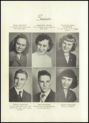 Page 14, 1952 Edition, Mars Hill High School - Azalea Yearbook (Mars Hill, NC) online yearbook collection