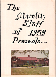 Page 5, 1959 Edition, Stedman High School - Macofitz Yearbook (Stedman, NC) online yearbook collection
