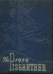 Page 1, 1959 Edition, Bethel High School - Pisgahteer Yearbook (Waynesville, NC) online yearbook collection