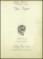 Page 5, 1959 Edition, Brawley High School - Tiger Yearbook (Scotland Neck, NC) online yearbook collection
