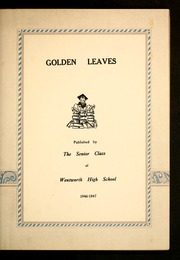Page 7, 1947 Edition, Wentworth High School - Golden Leaves Yearbook (Wentworth, NC) online yearbook collection