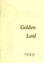 Wentworth High School - Golden Leaves Yearbook (Wentworth, NC) online yearbook collection, 1949 Edition, Page 1