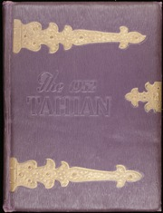 Page 1, 1952 Edition, Taylorsville High School - Tahian Yearbook (Taylorsville, NC) online yearbook collection