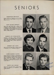 Page 13, 1952 Edition, Taylorsville High School - Tahian Yearbook (Taylorsville, NC) online yearbook collection