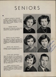 Page 17, 1952 Edition, Taylorsville High School - Tahian Yearbook (Taylorsville, NC) online yearbook collection