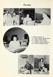 Page 10, 1955 Edition, Booker T Washington High School - Pioneer Yearbook (Reidsville, NC) online yearbook collection