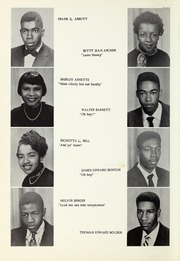 Page 14, 1955 Edition, Booker T Washington High School - Pioneer Yearbook (Reidsville, NC) online yearbook collection
