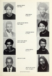 Page 15, 1955 Edition, Booker T Washington High School - Pioneer Yearbook (Reidsville, NC) online yearbook collection