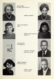 Page 17, 1955 Edition, Booker T Washington High School - Pioneer Yearbook (Reidsville, NC) online yearbook collection