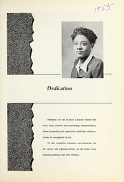 Page 7, 1955 Edition, Booker T Washington High School - Pioneer Yearbook (Reidsville, NC) online yearbook collection