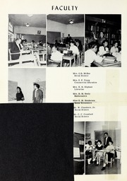Page 10, 1960 Edition, Booker T Washington High School - Pioneer Yearbook (Reidsville, NC) online yearbook collection