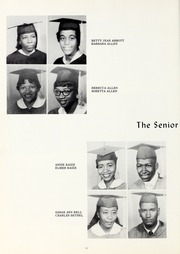 Page 16, 1960 Edition, Booker T Washington High School - Pioneer Yearbook (Reidsville, NC) online yearbook collection
