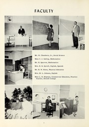 Page 10, 1961 Edition, Booker T Washington High School - Pioneer Yearbook (Reidsville, NC) online yearbook collection