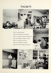 Page 11, 1961 Edition, Booker T Washington High School - Pioneer Yearbook (Reidsville, NC) online yearbook collection