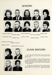 Page 17, 1961 Edition, Booker T Washington High School - Pioneer Yearbook (Reidsville, NC) online yearbook collection