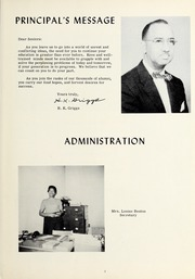 Page 9, 1961 Edition, Booker T Washington High School - Pioneer Yearbook (Reidsville, NC) online yearbook collection