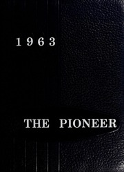 1963 Edition, Booker T Washington High School - Pioneer Yearbook (Reidsville, NC)