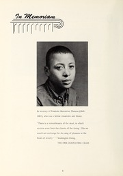 Page 8, 1964 Edition, Booker T Washington High School - Pioneer Yearbook (Reidsville, NC) online yearbook collection