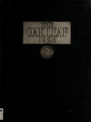 Page 1, 1927 Edition, Hugh Morson High School - Oak Leaf Yearbook (Raleigh, NC) online yearbook collection