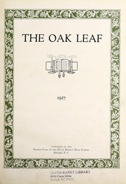 Page 7, 1927 Edition, Hugh Morson High School - Oak Leaf Yearbook (Raleigh, NC) online yearbook collection