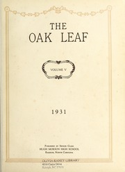 Page 5, 1931 Edition, Hugh Morson High School - Oak Leaf Yearbook (Raleigh, NC) online yearbook collection