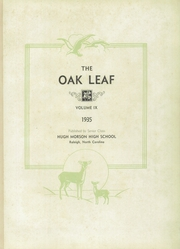 Page 5, 1935 Edition, Hugh Morson High School - Oak Leaf Yearbook (Raleigh, NC) online yearbook collection