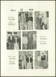 Page 17, 1951 Edition, Ayden High School - Wheel Yearbook (Ayden, NC) online yearbook collection