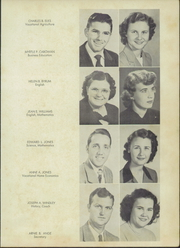 Page 7, 1951 Edition, Pantego High School - Olde Academie Yearbook (Pantego, NC) online yearbook collection