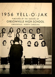 Page 7, 1956 Edition, Gibsonville High School - Yell O Jak Yearbook (Gibsonville, NC) online yearbook collection