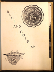 Page 5, 1959 Edition, Griffith High School - Blue and Gold Yearbook (Winston Salem, NC) online yearbook collection