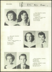 Page 14, 1952 Edition, Salem High School - Pines Yearbook (Morganton, NC) online yearbook collection