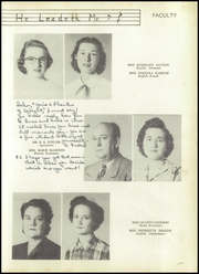 Page 9, 1952 Edition, Salem High School - Pines Yearbook (Morganton, NC) online yearbook collection