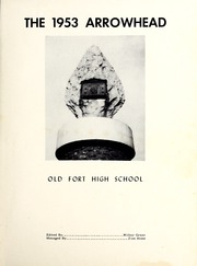 Page 5, 1953 Edition, Old Fort High School - Arrowhead Yearbook (Old Fort, NC) online yearbook collection