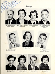 Page 9, 1953 Edition, Old Fort High School - Arrowhead Yearbook (Old Fort, NC) online yearbook collection