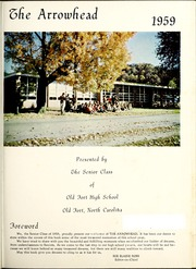 Page 5, 1959 Edition, Old Fort High School - Arrowhead Yearbook (Old Fort, NC) online yearbook collection