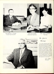 Page 6, 1960 Edition, Old Fort High School - Arrowhead Yearbook (Old Fort, NC) online yearbook collection