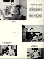 Page 16, 1961 Edition, Old Fort High School - Arrowhead Yearbook (Old Fort, NC) online yearbook collection
