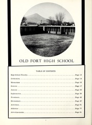 Page 6, 1961 Edition, Old Fort High School - Arrowhead Yearbook (Old Fort, NC) online yearbook collection
