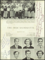 Page 12, 1954 Edition, Hillsboro High School - Silhouette Yearbook (Hillsboro, NC) online yearbook collection