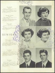 Page 15, 1954 Edition, Hillsboro High School - Silhouette Yearbook (Hillsboro, NC) online yearbook collection
