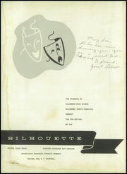Page 6, 1958 Edition, Hillsboro High School - Silhouette Yearbook (Hillsboro, NC) online yearbook collection