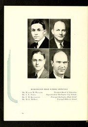 Page 10, 1938 Edition, Burlington High School - Doe Wah Jack Yearbook (Burlington, NC) online yearbook collection