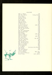Page 12, 1938 Edition, Burlington High School - Doe Wah Jack Yearbook (Burlington, NC) online yearbook collection