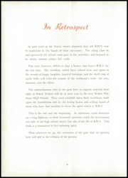 Page 10, 1951 Edition, Burlington High School - Doe Wah Jack Yearbook (Burlington, NC) online yearbook collection